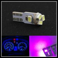 Quality T5 Dash 3020 5SMD T5 LED Car Wedge Dashboard Instrument Light Bulbs white purple blue for sale