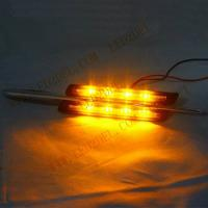 Quality Smoke LED Side Turn signal lamps for BMW E81 E82 E87 E88 E90 E60 LED Side Marker car light for sale