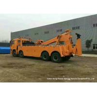 Quality SHACMAN F3000 8x4 Heavy Duty Tow Truck Wrecker 31 Ton For Road Recovery for sale
