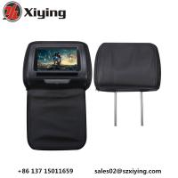 Quality Xiying headrest product 7 Removable Touch Panel dvd player headrest FM/IR transmitter AUX input/output native 32 bit ga for sale