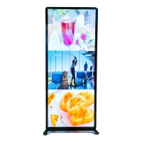 China Shelf Standing 70 1920x540 Digital Poster Led Display on sale