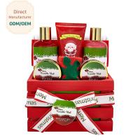 Quality Home Relaxing Bath Gift Sets / Christmas Body Gift Sets Exfoliating Feature for sale