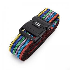 China Cross Travel Suitcase Strap Safe Belt Strap Luggage Strap Luggage belt on sale