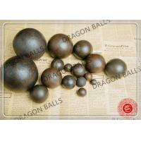 Quality Air Hammer Forged Grinding Balls , 50mm Forging Steel Balls For Ball Mill for sale