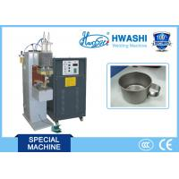 Quality CE Standard Capacitor Welding Machine , Cup Handle Stainless Steel Spot Welder for sale