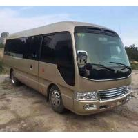 Quality 20 Seats Used Toyota Coaster Bus With Air Conditioner for sale