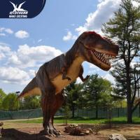 Buy Animatronic Dino Realistic Dinosaur Models Mouth Open And Close RoHS at wholesale prices