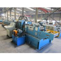 Quality Cr12 Roller Material Changeable Automatic  CZ  Purlin Roll Forming Machine With CE Certificate for sale