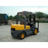 Quality Large Capacity Small Electric Forklift , 3.5 Ton Counterbalance Forklift Truck for sale