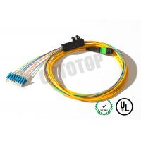 Quality OEM Low Less Mini Type MPO Fiber Connector Female To LC / UPC in 8F for sale