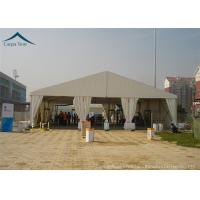 Quality Clear Span Fabric Structures Outdoor 20m By 30m Canopy White For Parties for sale