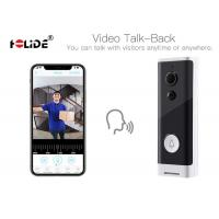 Quality Battery Powered Ront Door Camera Doorbell HD 720P With Real Time Voice Intercom for sale