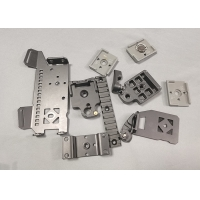 Quality Zinc Plating 0.05mm Tolerance 1000mm Thick Metal Stamped Parts OEM for sale