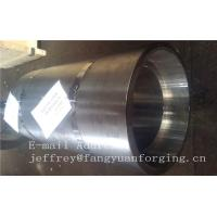 16Mo3 Steel Forged Ring Forged Cylinder Flange Heat Treatment And Machined for sale