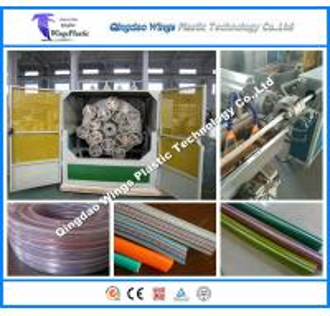 Quality Plastic PVC Fiber Hose Machine, PVC Reinforced Hose Making Machinery for sale