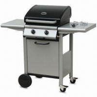 China 2-burner Gas BBQ Grill with Temperature Gauge, Measures 117 x 49.5 x 107cm on sale