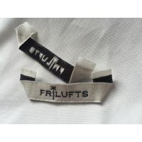 Pre Printed Clothing Custom Woven Labels , Self Adhesive Children'S Clothing Labels