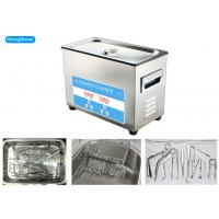 Digital Control Tabletop Ultrasonic Cleaner , Surgical Ultrasonic Cleaner With Heater