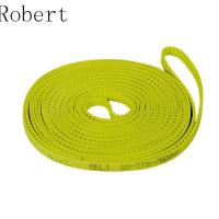Quality 10 mm Pitch Toothed Polyurethane Timing Drive Belts High Abrasion Resistance for sale