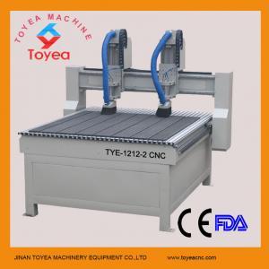 Double heads Advertising cnc engraving machine TYE-1212-2