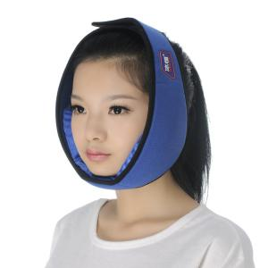 Quality Two Gel  Velvet Face Ice Pack Wrap With Adjustable Strap for sale
