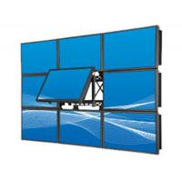 Quality Ultra Narrow Zero Bezel LCD Video Wall Indoor Wall Mount Full Screen Lcd Monitors for sale