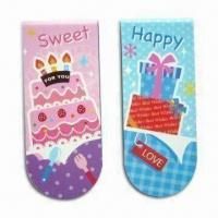 Quality N Times Bookmarks with Magnetic Stick, Four Colors Printing for sale
