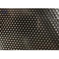 PVC Coated Round Steel Punching Hole Mesh Used For Fence /Perforated Metal