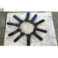 Quality M36x3x154mm 40Cr Forging Double Threaded Black Bolts for Cement Plant and Powder Station for sale