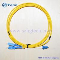 Buy cheap Zipcord SC-LC Fiber Optic Patch Cable China Fiber Patch Cord Supplier from wholesalers