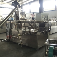 Quality 80KVA 140kg/H Dog Food Processing Machine With ABB Inverter for sale