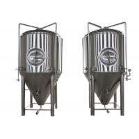 Quality Restaurant Alcohol Conical Beer Stainless Steel Fermenter Micro Brewing Equipment for sale
