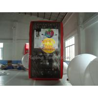 Buy cheap 3.5*2*2m inflatable cube balloon with six sides digital printing for Celebration day from wholesalers