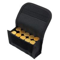 Quality Outdoor Tactical 10 Round Shotshell Reload Holder Molle Pouch for 12 Gauge/20G Magazine Pouch Ammo Round Cartridge pouch for sale
