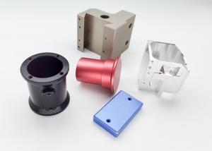 Quality 0.01mm Tolerance CNC Milling Turning Parts Hard Anodized OEM Sandblasting for sale