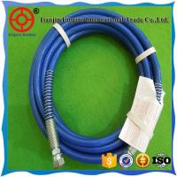 China SAE 100 R8 3/8'' inch blue synthetic fiber reinforced  thermoplastic hydraulic rubber hose on sale