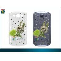 Quality Anti-Slip Hard  S3 i9300 Samsung Galaxy Protective Cases  Luxury 3D Bling Pearl for sale