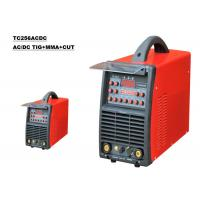 Quality Electric 3 In 1 Welding Machine With AC/DC PULSE TIG MMA Plasma Cutting  Function for sale
