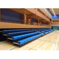 Buy Power Control Retractable Grandstands Retractable Seating System Recessed Polymer Bench at wholesale prices
