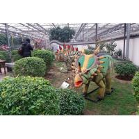 China Frp Life Size Dinosaur Statue Display In Special Independent Decoration Park Outdoor on sale