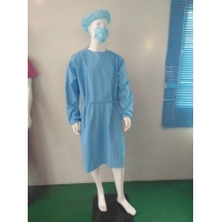 Buy cheap PE Cast Film Disposable Isolation Gowns from wholesalers