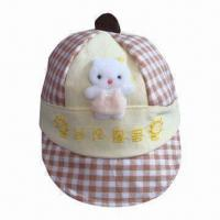 Quality Children's Hat with Ordinary Embroidery Logo, Available in Various Colors for sale