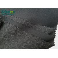 Quality Eco-friendly Polyester Viscose Mixed Brushed Twill Woven Fusible Interlining70gsm Bonding for Women and Men Suits for sale
