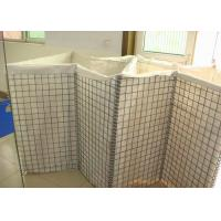 Quality Galfan Coated Welded Military Hesco Barriers Hesco Bastion With Sand For Defensive Wall for sale
