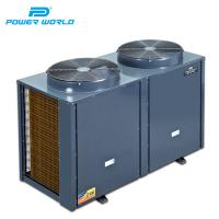Quality 54600BTU Commercial Compress Air to Heated Swimming Pool Water Titanium Exchanging Heater Pump R407C for sale