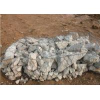 Quality Defend The Floods Gabion Wall Cages / Pvc Coated Gabion Stone Cages for sale