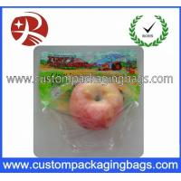 China Eco Moisture Proof Heat Seal Fruit Packaging Bags For Shop on sale