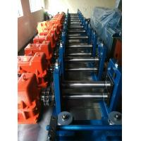 Quality Gear Box Drive Rainwater Pipe Forming Machine 7 Rollers 0 - 70 mtr / min Speed for sale