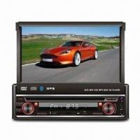 Quality Manual Fold Down Panel 7-inch TFT Screen Car MP5 Player with USB/SD Card/iPod Slot for sale