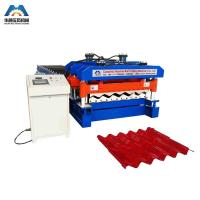 Quality Custom 13 - 22 Forming Station Metal Roof Tile Roll Forming Machine For Color Steel Tile for sale
